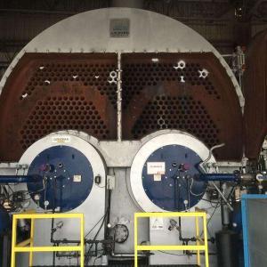Manutenção de caldeiras a vapor