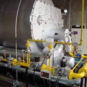 Montagem de caldeira a vapor